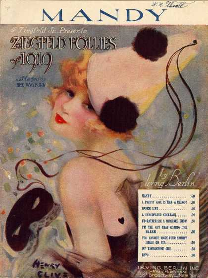 Sheet Music - Mandy; Ziegfeld Follies of 1919