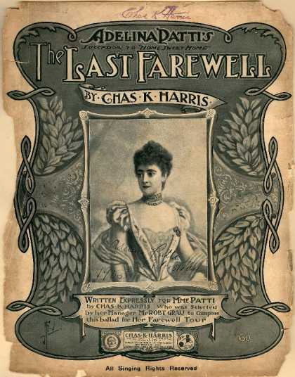 Sheet Music - The last farewell