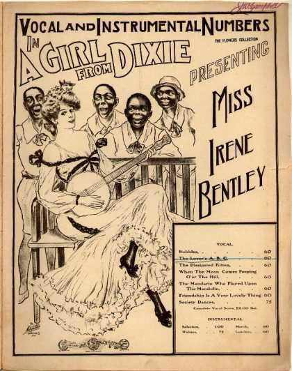 Sheet Music - Lover's A.B.C.; Girl from Dixie