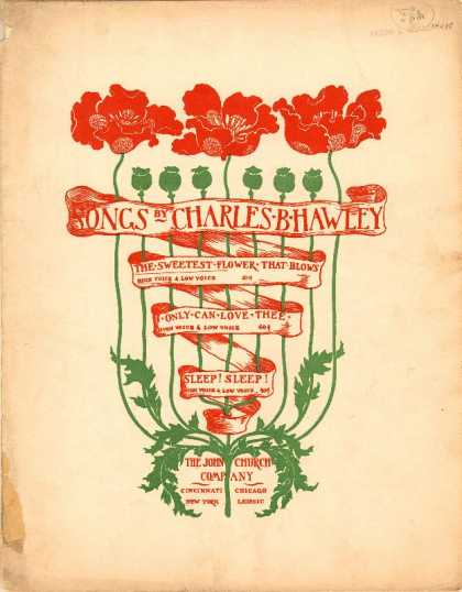Sheet Music - The sweetest flower that blows
