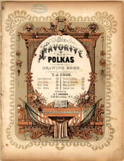 Sheet Music - Three bells polka