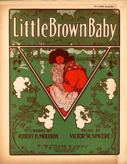Sheet Music - Little brown baby