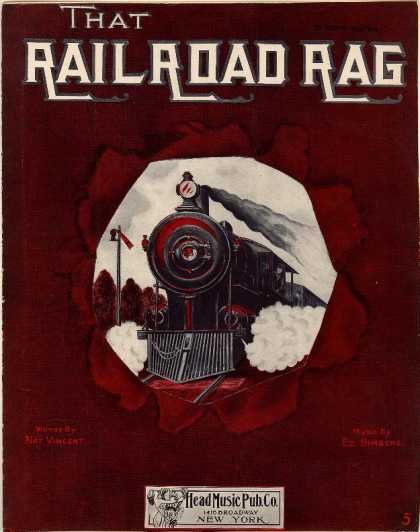 Sheet Music - That railroad rag
