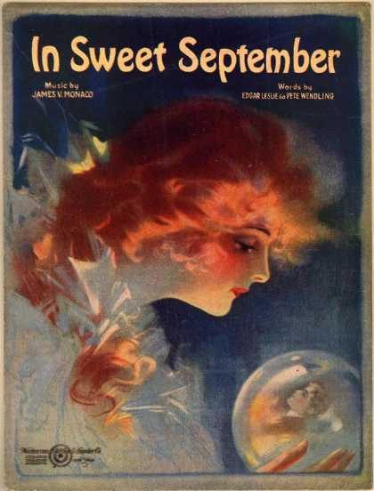 Sheet Music - In sweet September