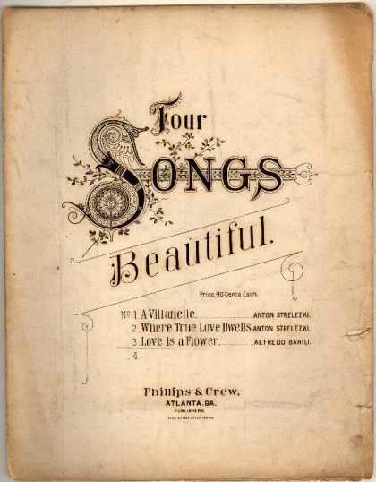 Sheet Music - Love is a flower
