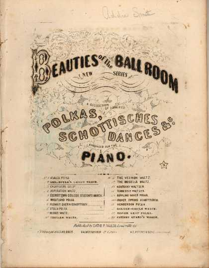 Sheet Music - Gen. Boyle's grand march