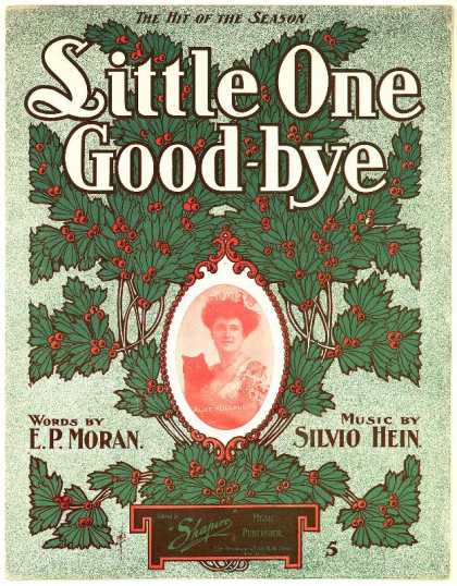 Sheet Music - Little one good-bye
