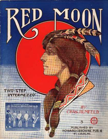 Sheet Music - Red moon