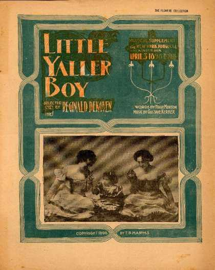 Sheet Music - Little yaller boy