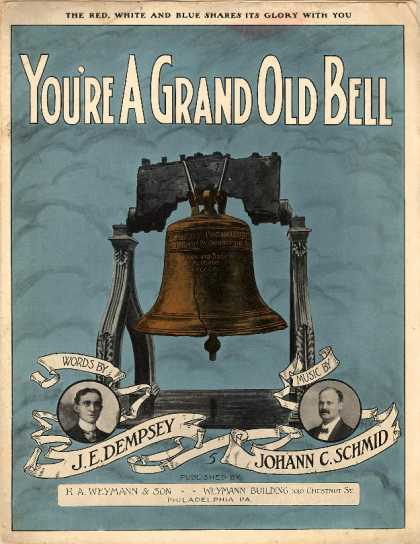 Sheet Music - You're a grand old bell