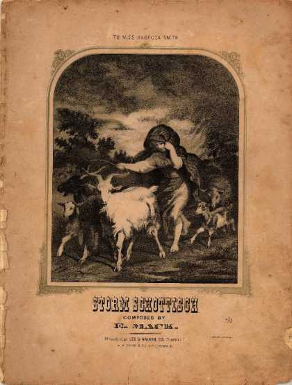 Sheet Music - Storm schottisch