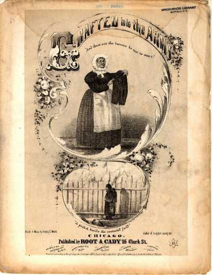 Sheet Music - Grafted into the army; No. 13