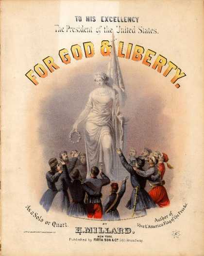 Sheet Music - For God and liberty