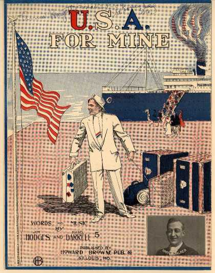 Sheet Music - U.S.A. for mine