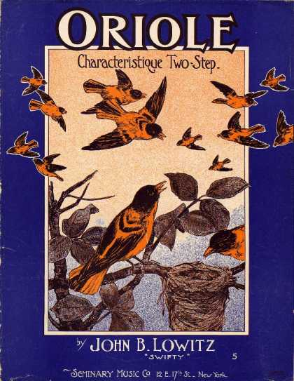 Sheet Music - Oriole; Characteristique two-step