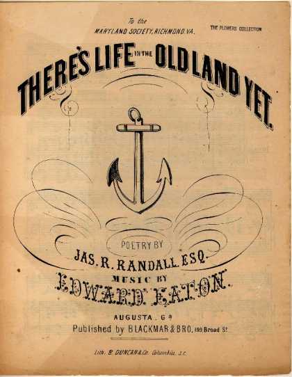 Sheet Music - There's life in the old land yet
