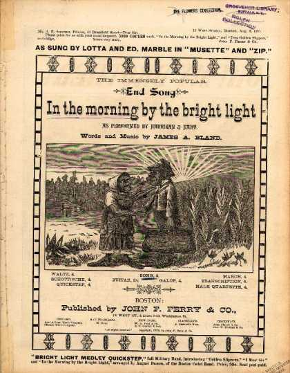 Sheet Music - In the morning by the bright light