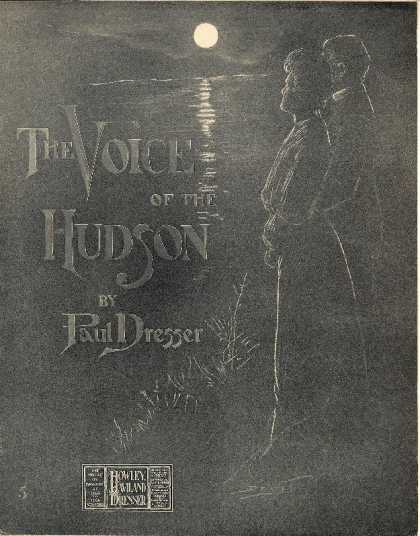 Sheet Music - The voice of the Hudson