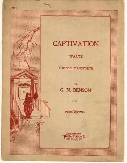 Sheet Music - Captivation waltz