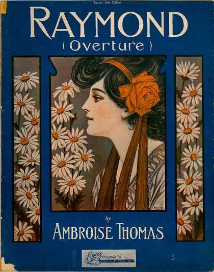 Sheet Music - Raymond overture
