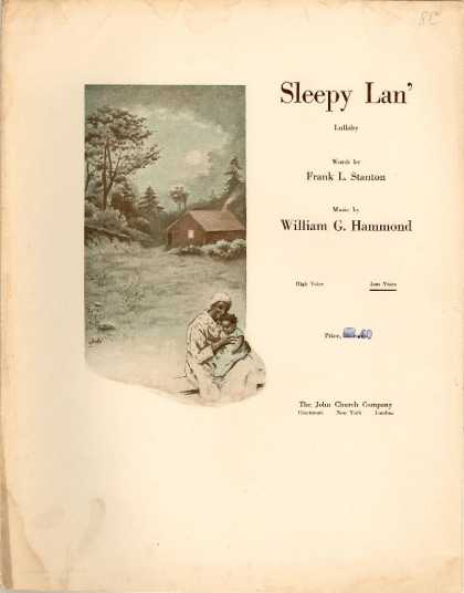 Sheet Music - Sleepy lan'; Lullaby
