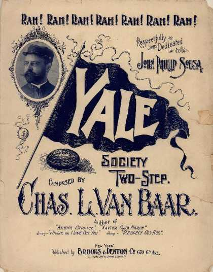 Sheet Music - Yale society two-step