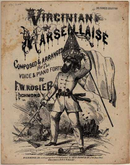 Sheet Music - Virginian marseillaise