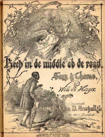 Sheet Music - Keep in de middle ob de road
