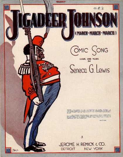 Sheet Music - Jigadeer Johnson; March march march