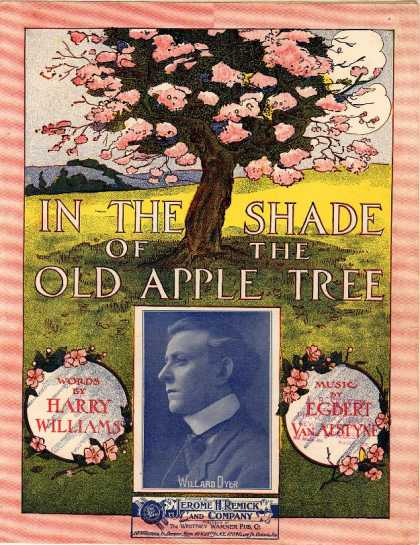Sheet Music - In the shade of the old apple tree