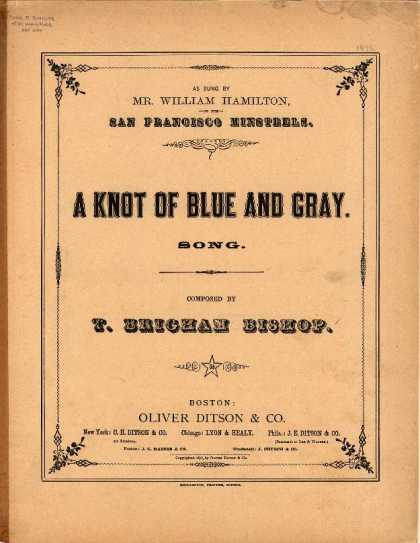 Sheet Music - A knot of blue and gray