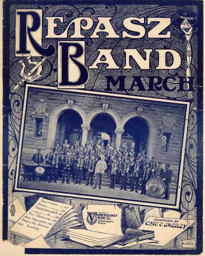 Sheet Music - Repasz Band march