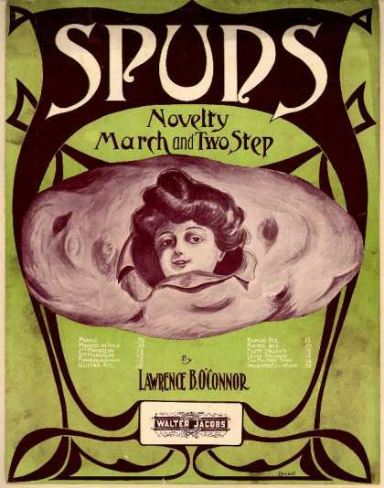 Sheet Music - Spuds; Novelty march and two step