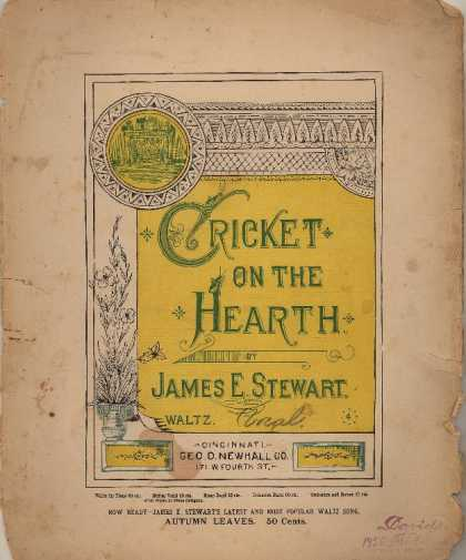 Sheet Music - Cricket on the hearth