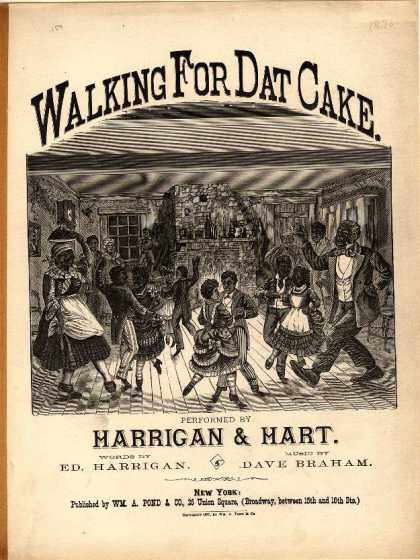 Sheet Music - Walking for dat cake