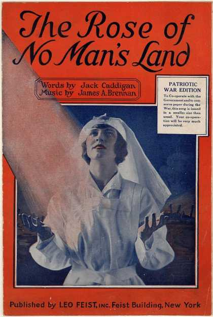 Sheet Music - The rose of no man's land; La rose sous les boulets