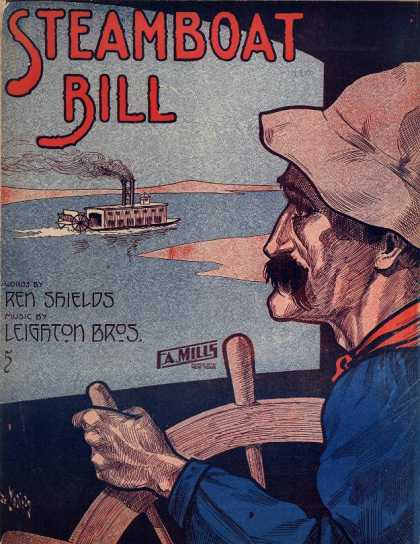 Sheet Music - Steamboat Bill