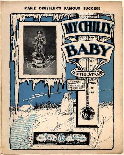 Sheet Music - My chilly baby