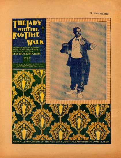 Sheet Music - Lady with the rag-time walk