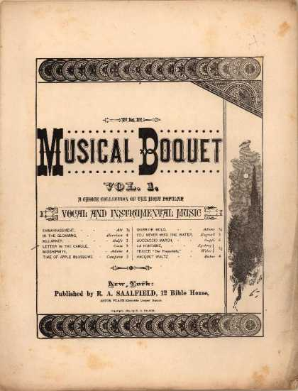 Sheet Music - Letter in the candle