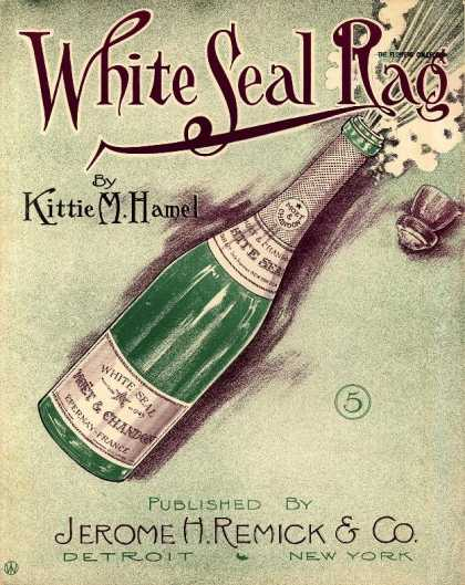 Sheet Music - White seal rag