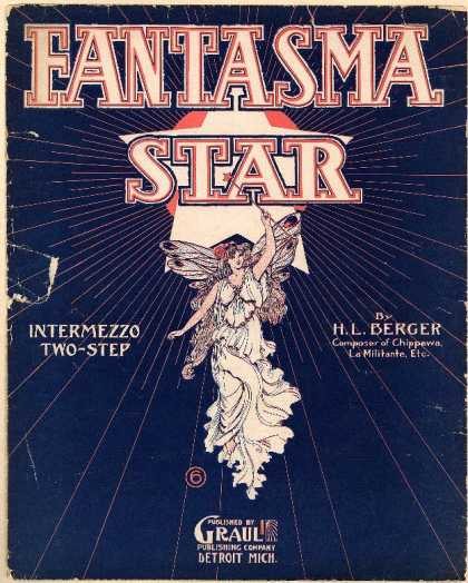 Sheet Music - Fantasma; Intermezzo two-step