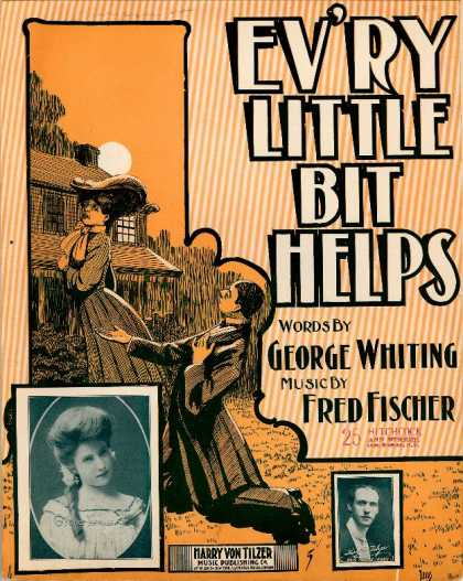 Sheet Music - Ev'ry little bit helps