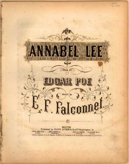 Sheet Music - Annabel Lee