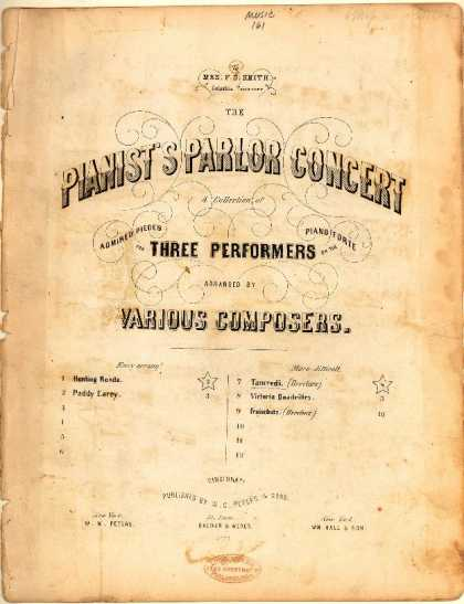 Sheet Music - Ouverture Tancredi