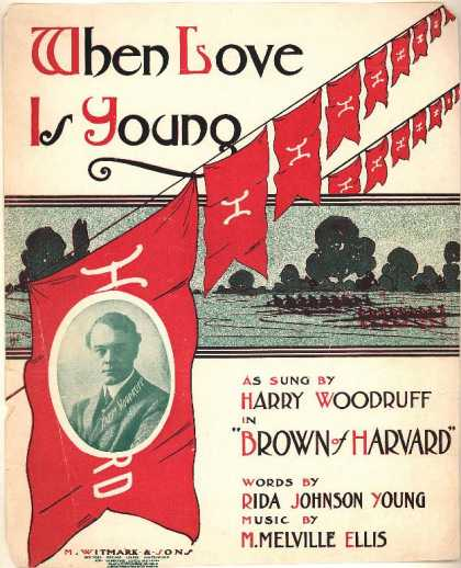 Sheet Music - When love is young