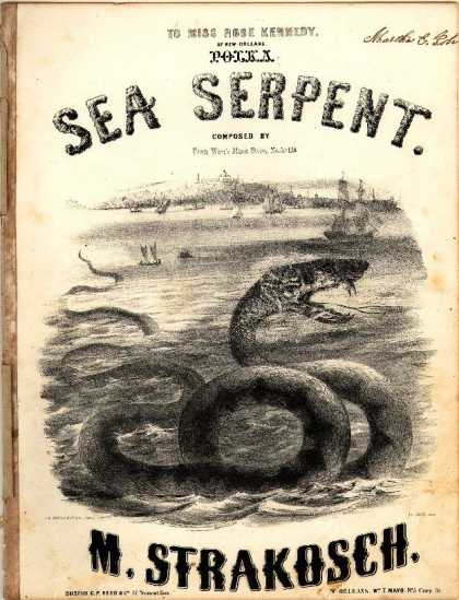 Sheet Music - Sea Serpent Polka