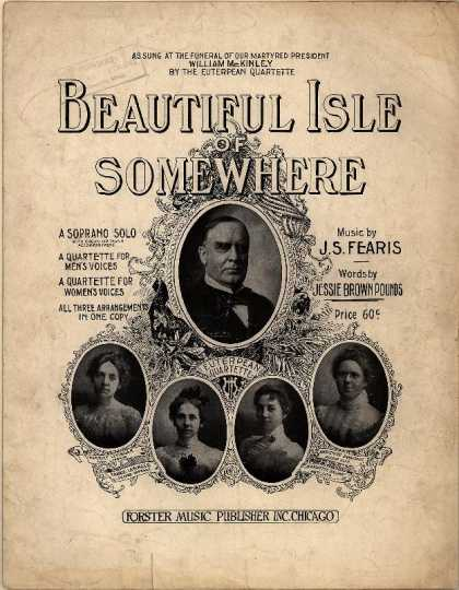 Sheet Music - Beautiful isle of somewhere