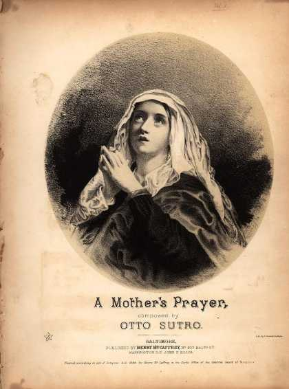 Sheet Music - Mother's prayer