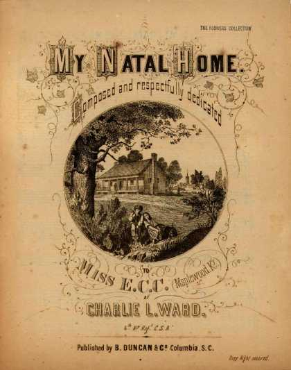 Sheet Music - My natal home